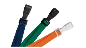 "Adjustable Flat Lanyard 3/8"" - 100"