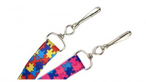 "Autism Awareness Puzzle 3/4"" Lanyards – Pack of 100"