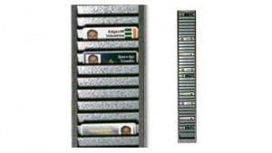 Horizontal Metal ID Badge Rack