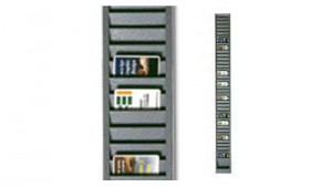 Vertical Metal ID Badge Rack
