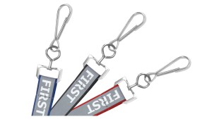 """Safety First"" 5/8"" Reflective Lanyards – Pack of 100"