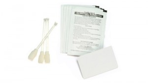 Zebra Premier Cleaning Kit - 25 Cleaning Swabs 50 Cleaning Cards