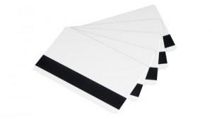 Evolis Rewritable PET Cards (Black) with Magnetic Stripe - 100 cards
