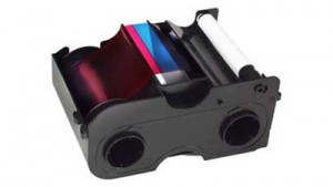 Fargo Starter Ribbon Cartridge - YMCKO - 250 Prints