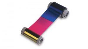 Fargo Color Ribbon YMCK - HDP - 500 Prints