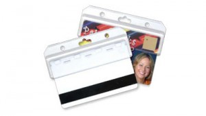 Half-Card Easy Access Badge Holder - 100