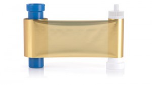 Magicard Gold Foil Dye Ribbon - 1000 Prints