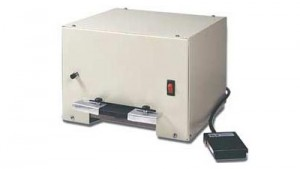 Heavy-Duty Electric Slot Punch with Foot Switch