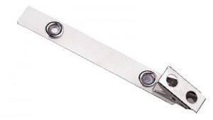 2-Hole Clip with Extra-Long Mylar Strap - 100
