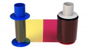 Fargo Eco Half Panel YMCKO Ribbon – 850 Prints