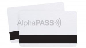 AlphaPass Composite Proximity Cards with HiCo Magnetic Stripe
