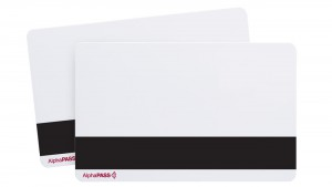AlphaPass PVC Proximity Cards with HiCo Magnetic Stripe