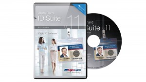 AlphaCard ID Suite Elite v.11 ID Card Software-Physical Disc
