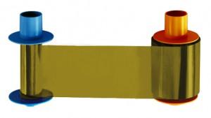 Fargo 45207 Metallic Gold Ribbon, 1000 Prints