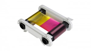 Evolis RT5F011AAA RT Color Ribbon - YMCKK - 400 Prints / Roll