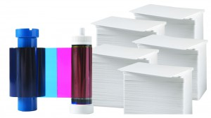 Printer Resupply Pack - MA300YMCKO Ribbon & PVC Cards