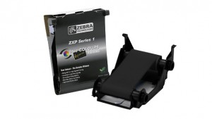 Zebra Load-N-Go monochrome ribbon for ZXP Series 1 - Black (K), 1000 Prints