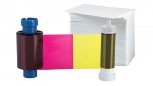 AlphaCard PRO YMCKO 100 Print Ribbon/Card Pack