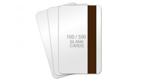 PVC/Poly Cards - HiCo Magnetic Stripe - 100 / 500