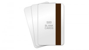 Signature Panel PVC Cards w/ Hi-Co Magnetic Stripe - 100