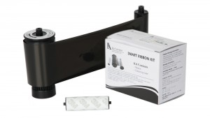 IDP Black Monochrome Ribbon Kit – 1,200 Prints