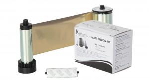 IDP Metallic Gold Monochrome Ribbon Kit – 1,200 Prints