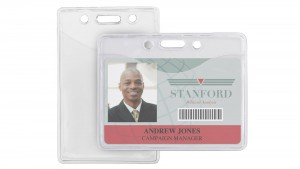 Anti-Print Transfer Badge Holders – Pack of 100.