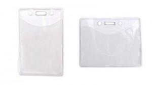 Value Badge Holder - Vertical & Horizontal Styles - 100 Pack