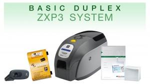 Basic Duplex High Speed ID Card System