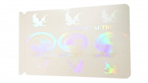 Eagle Self-Adhesive Hologram Overlay - Pack of 100