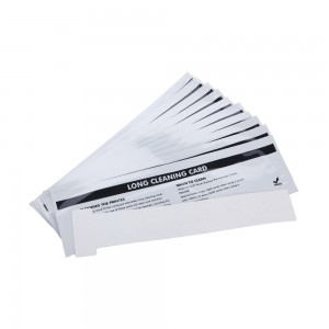 DuraClean™ ACL004 Alcohol Cleaning T Cards for Evolis Printers