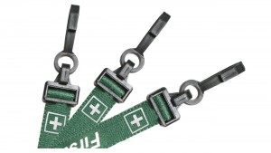 "EasyBadge Preprinted ""First Aid"" Lanyards"