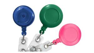 Standard Round Badge Reels, Pack of 25