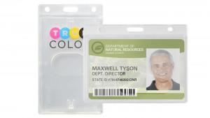 Economy Rigid Badge Dispensers – Pack of 50