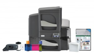 Fargo DTC4500e Dual-Sided ID Card System - Single-Sided Lamination