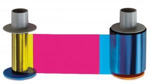 Fargo DTC1500 XE YMCKO Full color ribbon-700 prints
