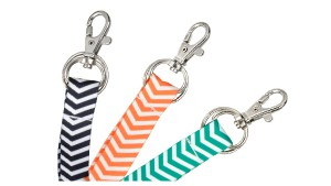 "Fashion 5/8"" Chevron Lanyards – Pack of 100"
