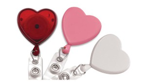 Heart Badge Reels - Pack of 25