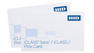 HID iCLASS Seos Card with iCLASS and Prox