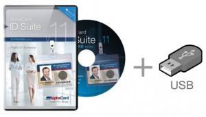 AlphaCard ID Suite Standard v.11 + Secure USB Key
