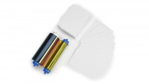 Zebra 105999-10L2 YMCKO Ribbon & 2-Slot Card Kit - 400 Prints