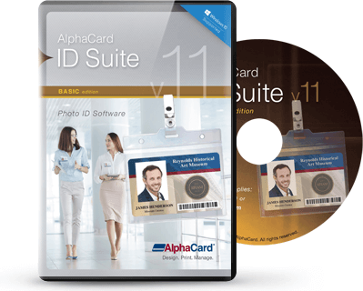 AlphaCard ID Suite Basic