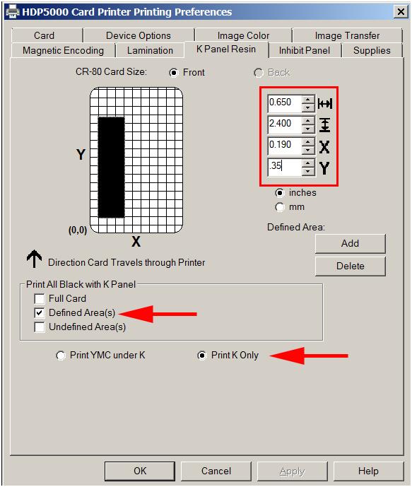 Barcode Encoding HDP5000 2