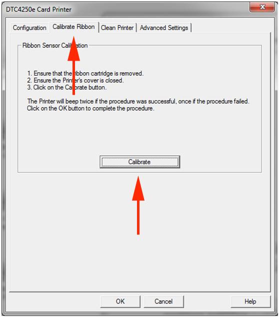 Calibrate DTC4250e 2
