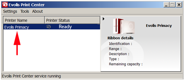 Calibrate Ribbon Primacy 1