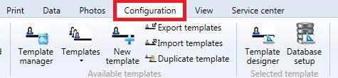 Configuration Tab