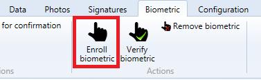 Enroll Biometric