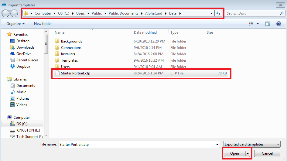 File Browsing
