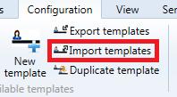 Import Templates