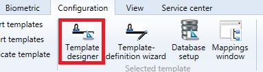 Template designer